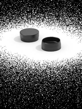 Abdeckkappen aus Kunststoff  für Bohrungen
